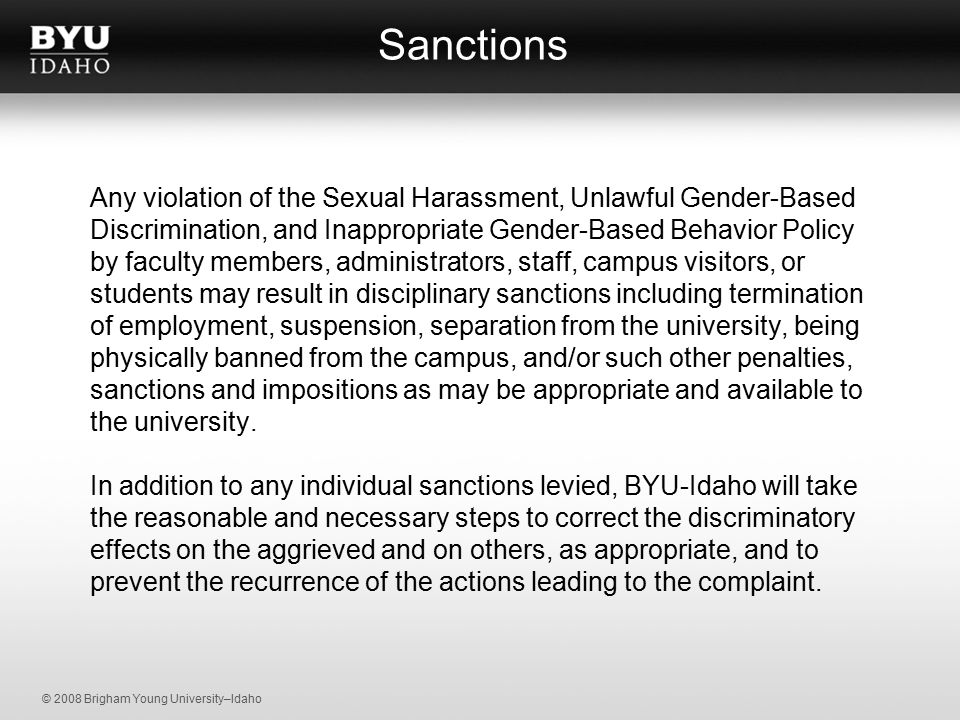Sexual Harassment on Campus: A Guide for Administrators