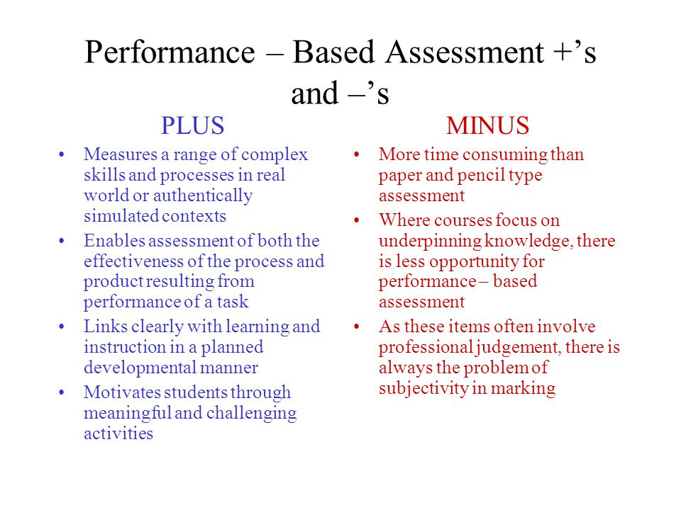 Chapter What is Performance-Based Learning and Assessment, and Why is it Important?