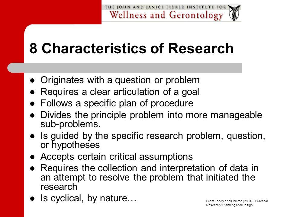 Welns 670 Wellness Research Design Ppt Video Online Download