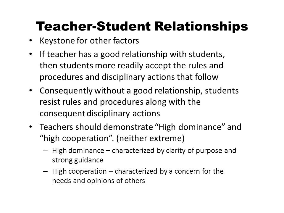 Teacher dating student law