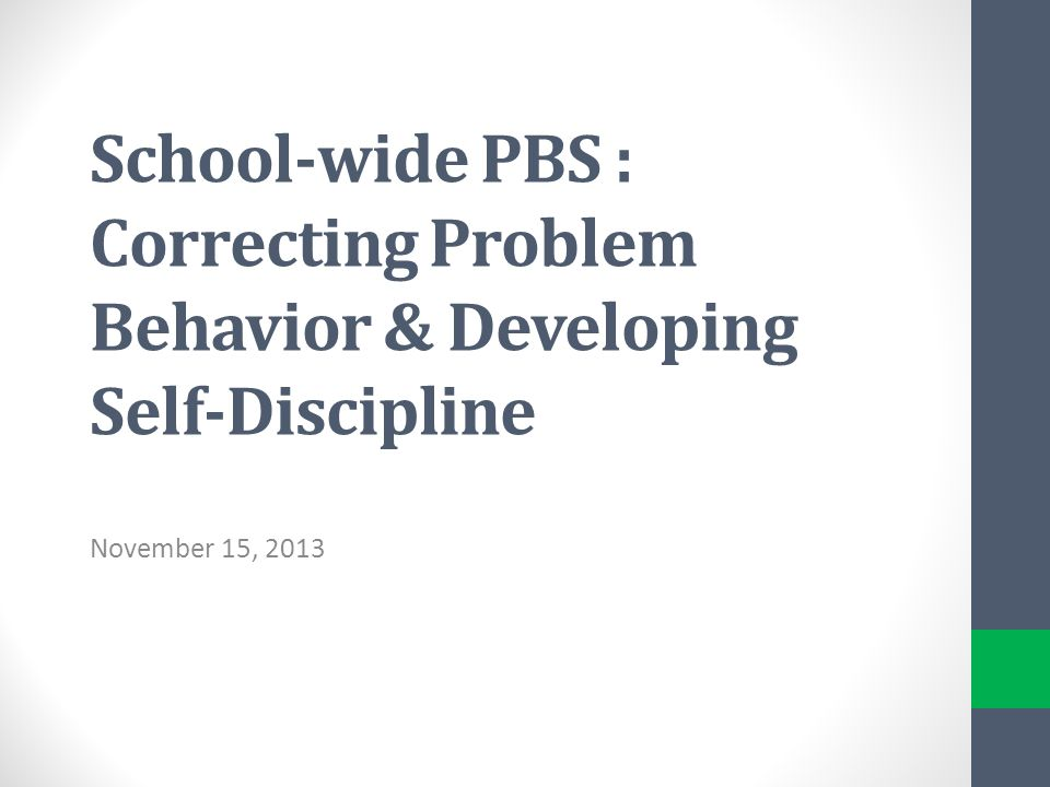 how to develop self discipline ppt