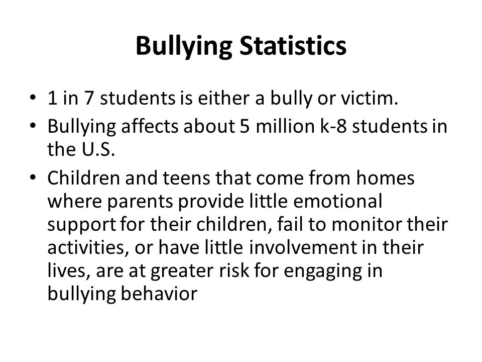 How Bullying Affects Mental Health