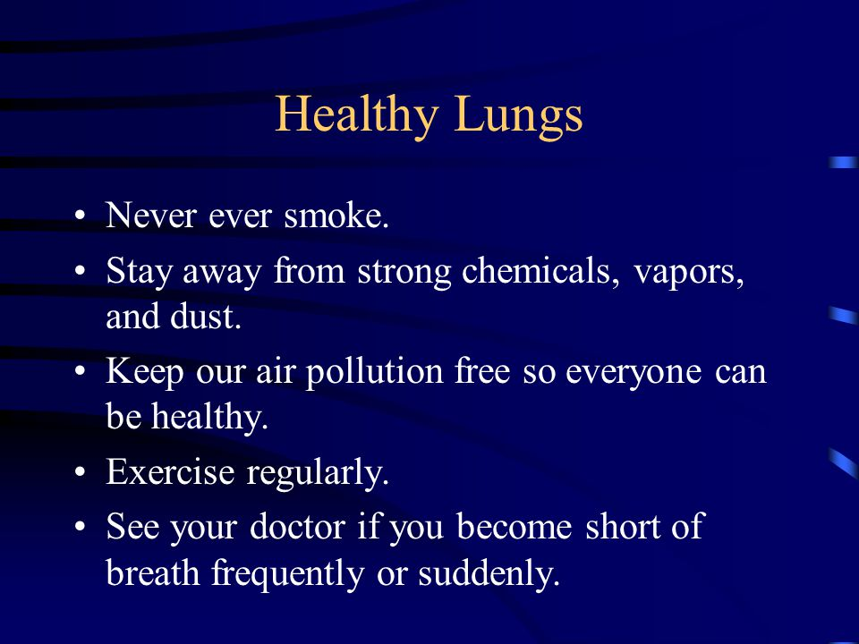 11 Tips How To Keep Your Lungs Strong And Healthy | Diet ...