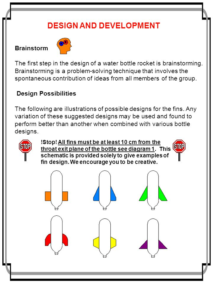 How to build a water rocket ppt video online download design and development pronofoot35fo Choice Image