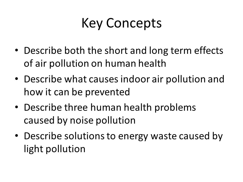 short and long term effect of water pollution Human health effects of air pollution marilena kampa,  short- and long-term exposures have also been linked with premature  they do not contaminate ground water.