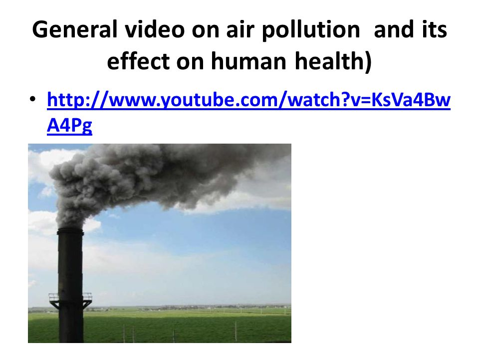 essay on air pollution and its effects on human health An essay on air pollution in the 20th century  the threat of fossil fuel pollution to human health  the causes and negative effects of air pollution in cities .