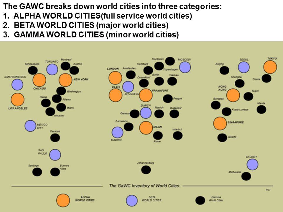 Background on professional baseball ppt video online download the gawc breaks down world cities into three categories gumiabroncs Images
