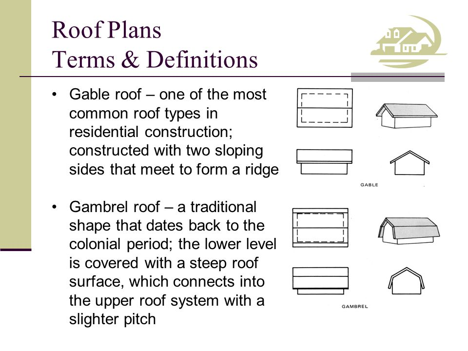 how to draw roof plan