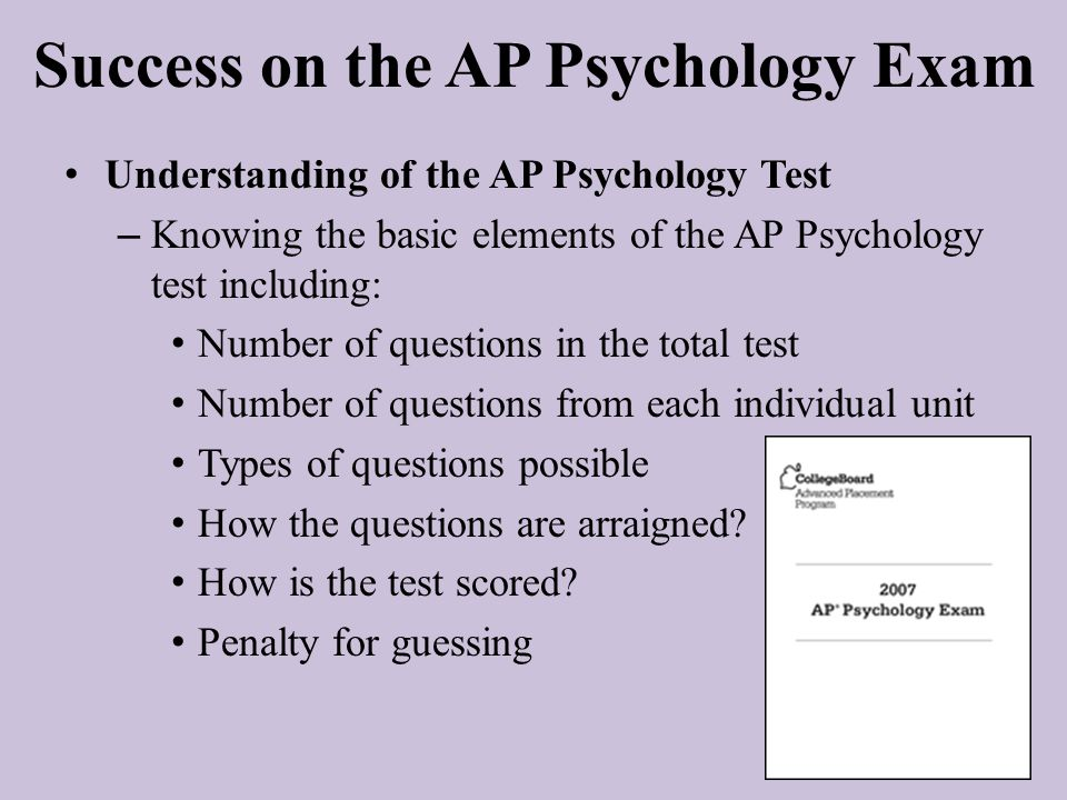 college board ap psychology essays How to write the ap psychology essay  every year around the beginning of june, high school and college psychology teachers gather at a university for one purpose to grade ap psychology essays.