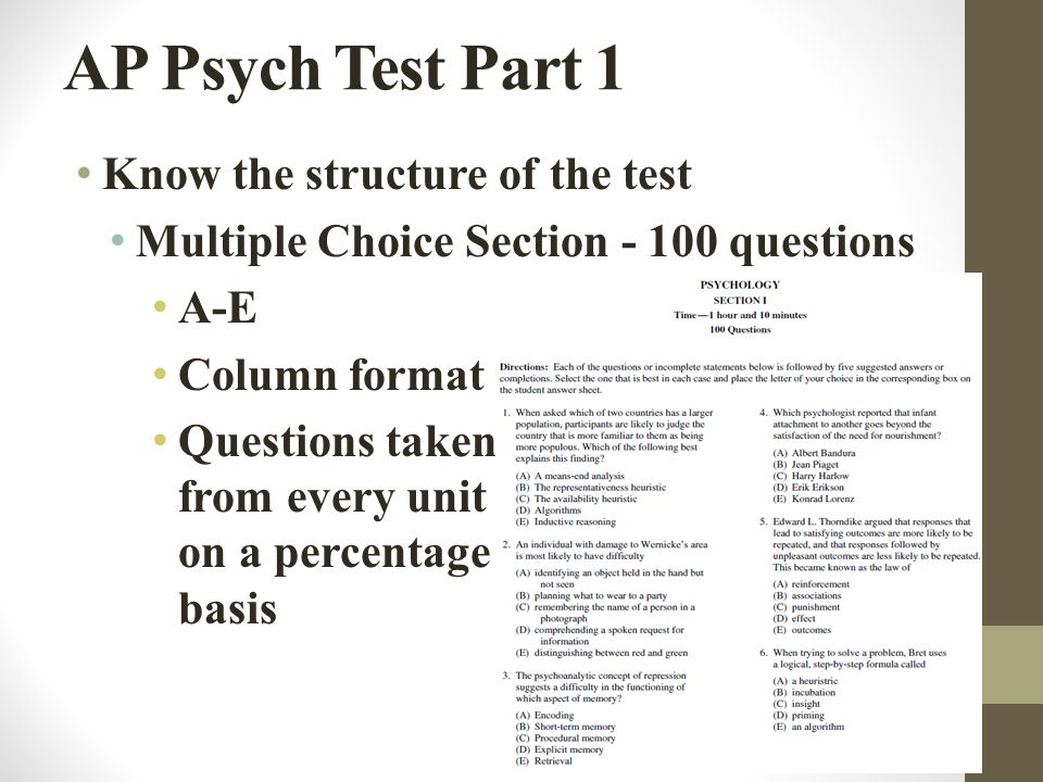 ap psych chapter five