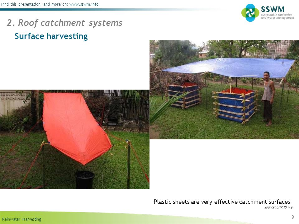 Roof catchment systems & Rainwater Harvesting (Rural) - ppt video online download memphite.com