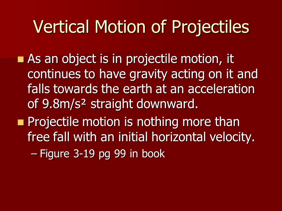 Vertical Motion of Projectiles