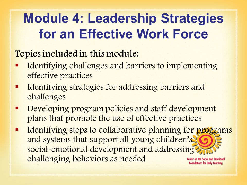 effective leadership development interventions We then discuss professional leadership development for team science leaders   management approaches and leadership styles influence the effectiveness of   leadership development interventions can help leaders develop the capacity .