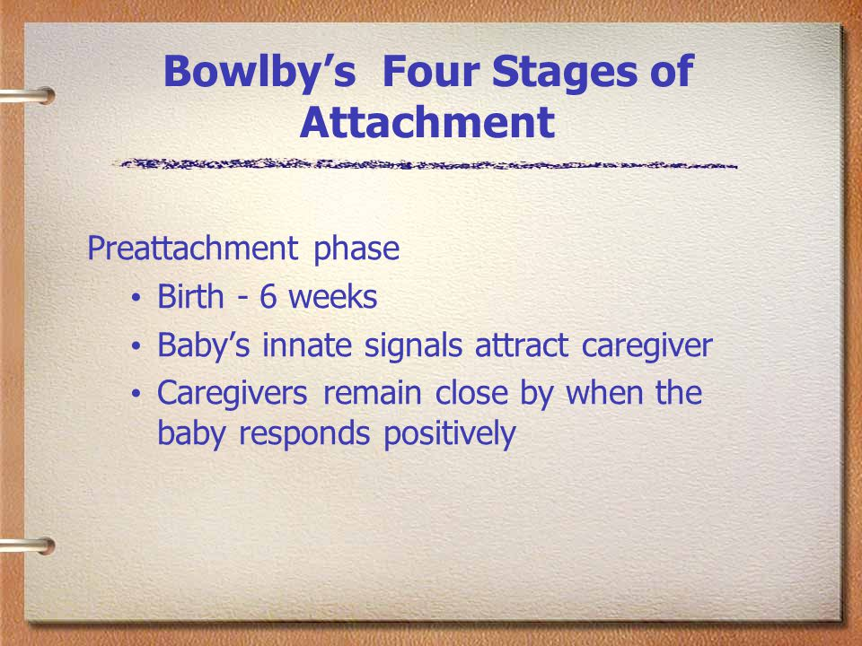 john bowlby s theory of attachment do This lesson will discuss attachment theory and the role of attachment on john bowlby, developed a theory attachment theory was developed by bowlby and.