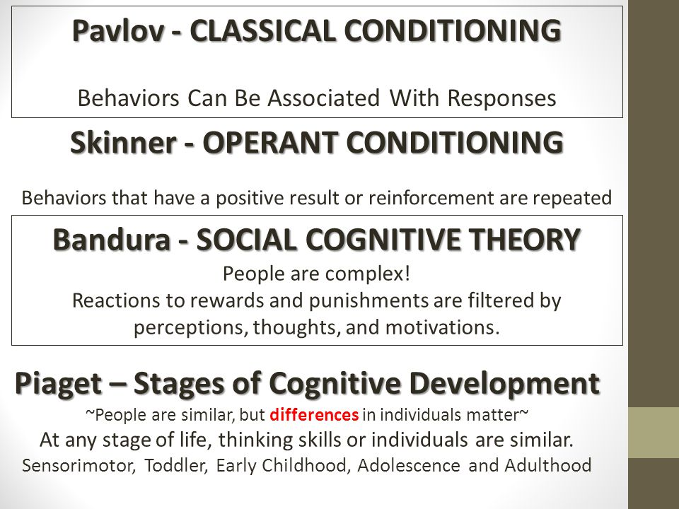 classical and operational conditioning Classical vs operant conditioning how do you get someone to do your bidding it must be a relief being a parent or a master because you can see how your children or dogs follow whatever you say instead of it being the other way around, right.