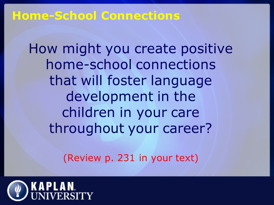 Home-School Connections