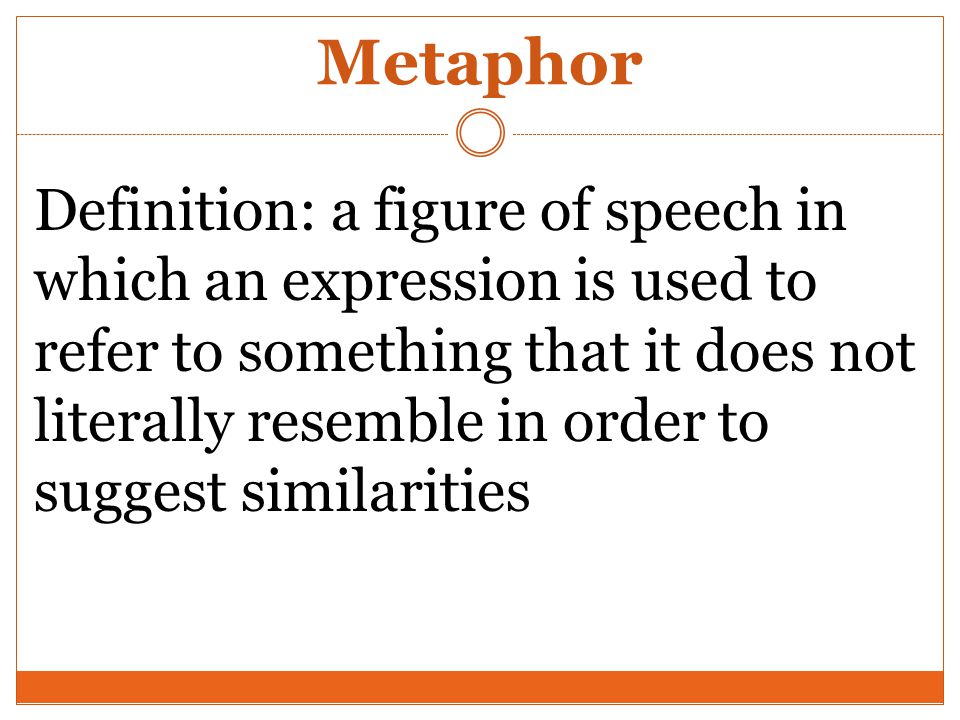 What is the Meaning of metaphor - DriverLayer Search Engine