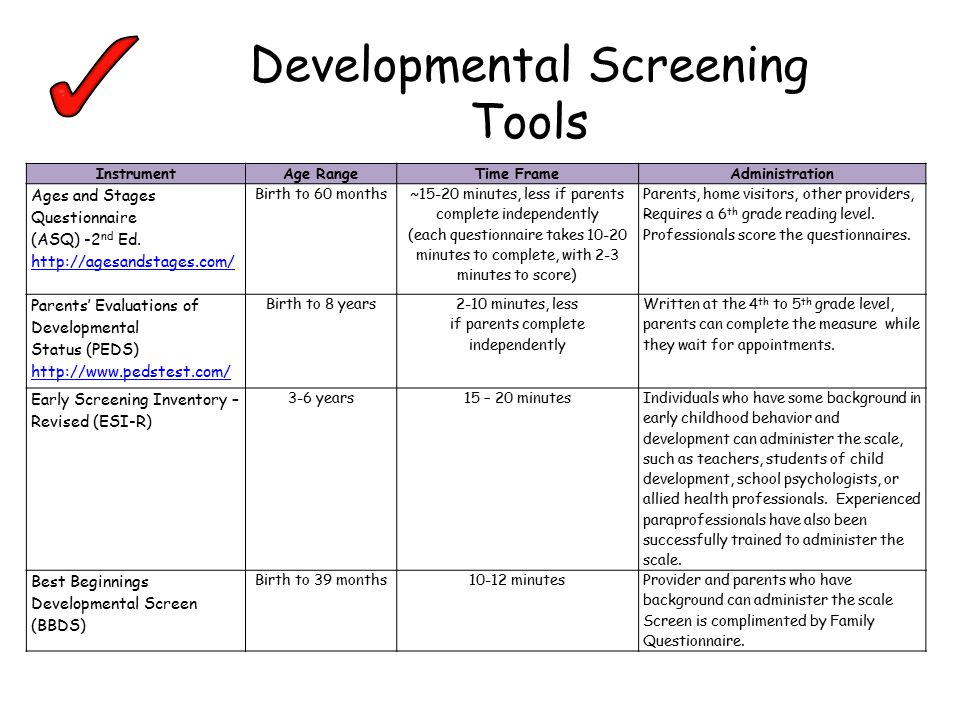 Quality care and education system for marylands children ppt developmental screening tools sciox Choice Image