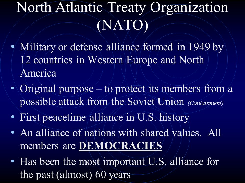 what was the original purpose of nato essay This book draws upon essays prepared for a nato-warsaw pact conference^'   north atlantic treaty organization (nato) created in 1949 and the warsaw.