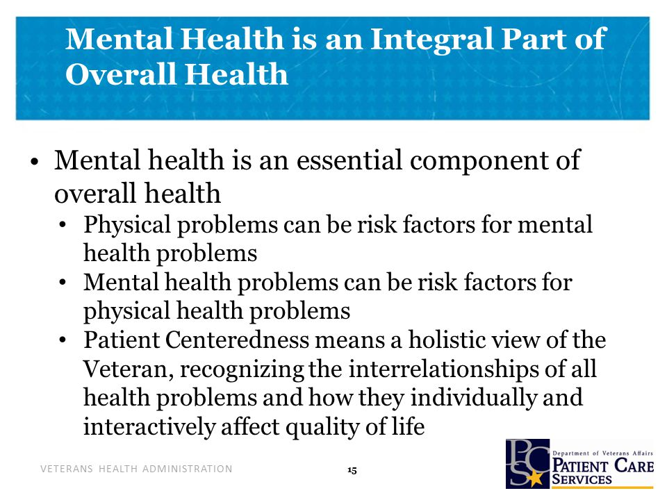 Patient safety issues in mental health care