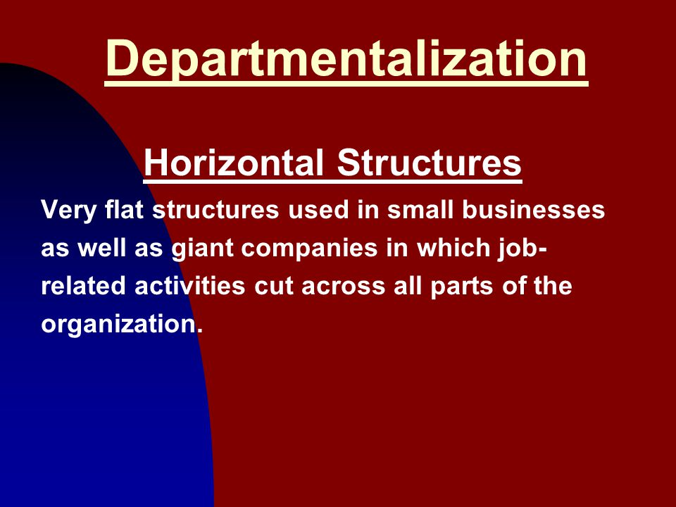 Horizontal Structures