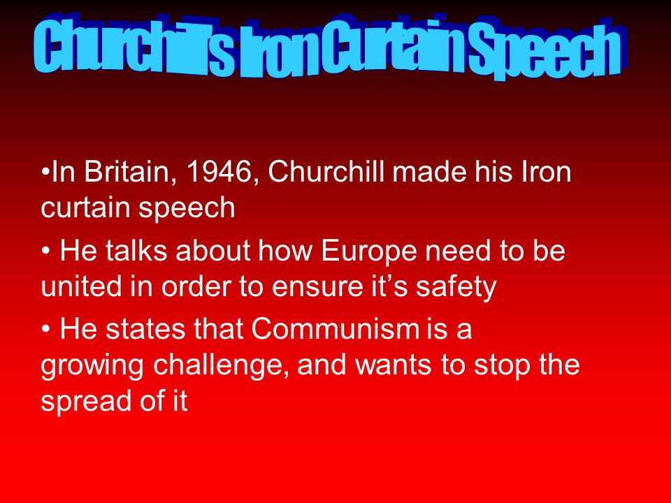 churchill's attitude to communism What was roosevelt's, truman's, and churchill's attitude toward stalin and communism.
