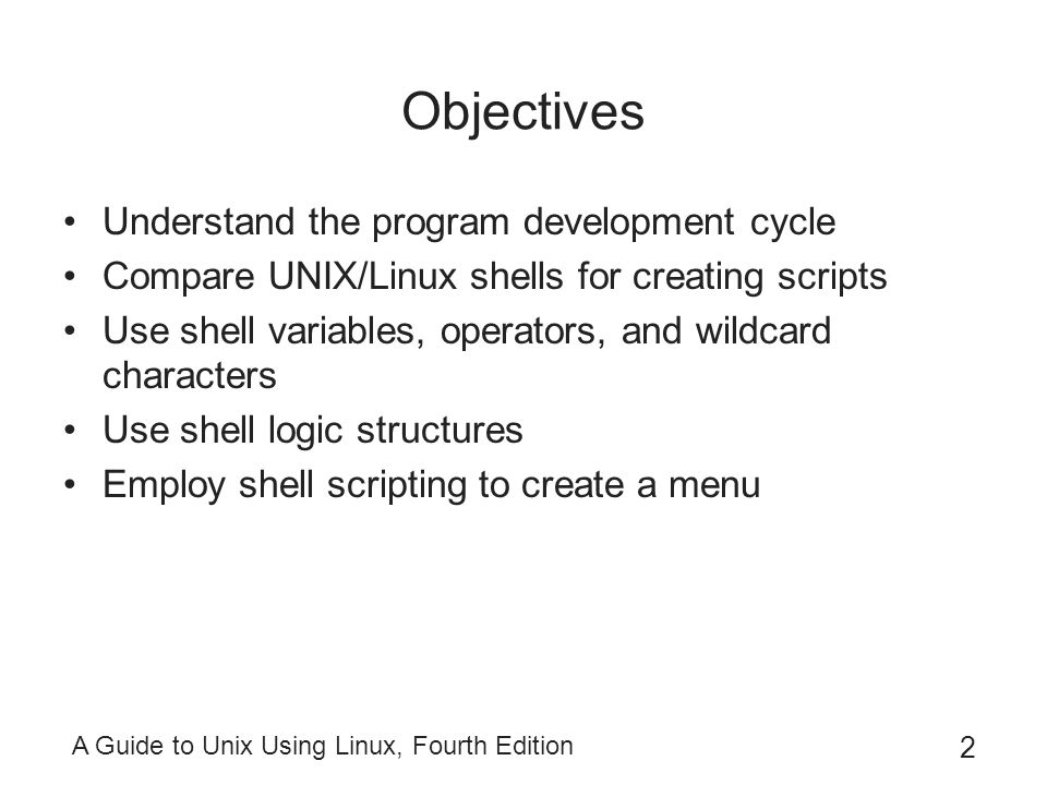 guide to unix using linux fourth edition chapter 2 review Linux fourth edition chapter 6 answers a practical guide to ubuntu linux, fourth edition, w/dvd, introduces linux including one chapter each on setting up and using these servers/clients.