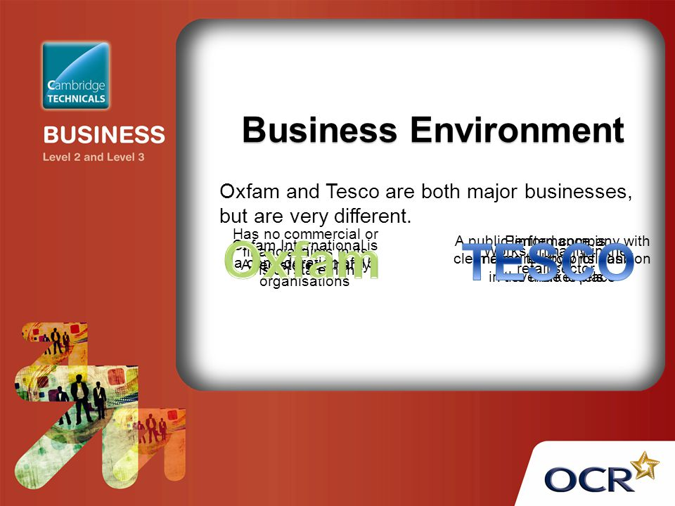 tesco the changing business environment We continue to recognise climate change as the biggest environmental threat the world faces and one which could pose particular challenges to a number of we have pledged to help achieve zero net deforestation by 2020, starting with the four global drivers for deforestation that are relevant for our business: palm oil,.