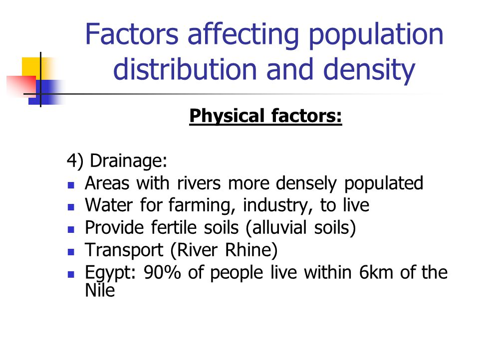 human factors affecting river discharge Significance in early human settlements  river discharge constitutes the main source for the oceans  factors that influence sediment yield.