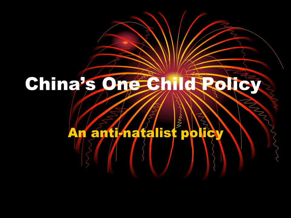 an argument against chinas one child policy China s one child policy argumentative chinas one child policy caring for the elderly and prejudice against females are all associated with the one.