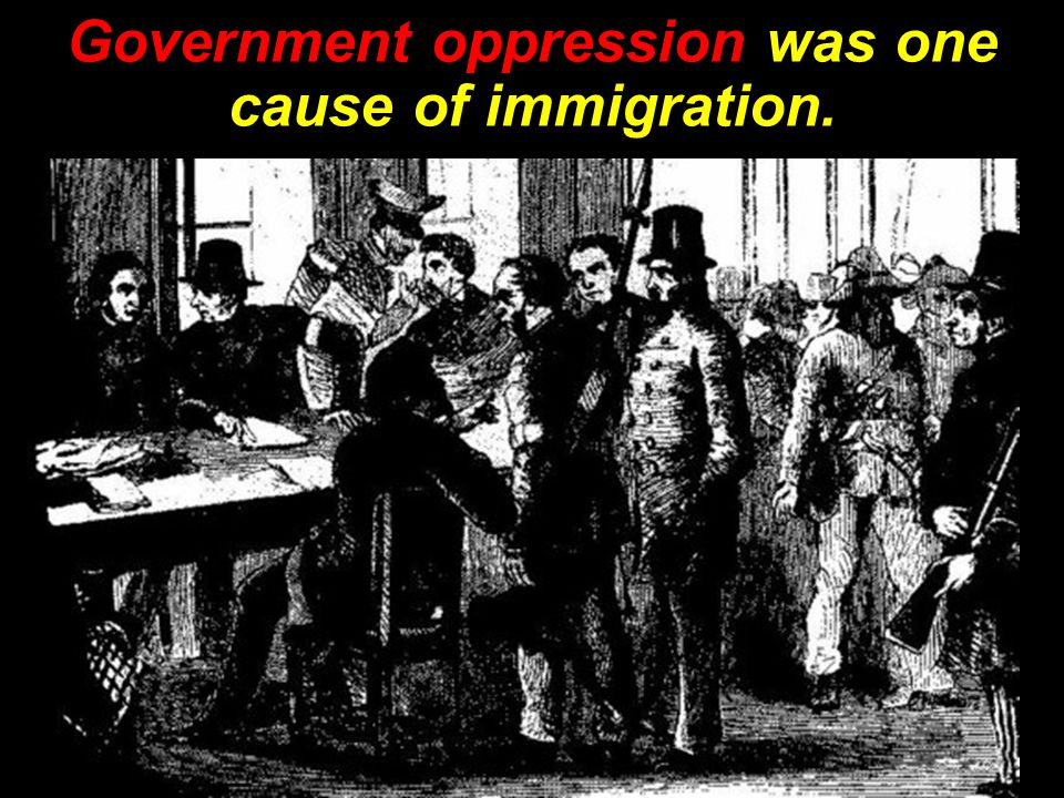 Causes and Effects of Immigration