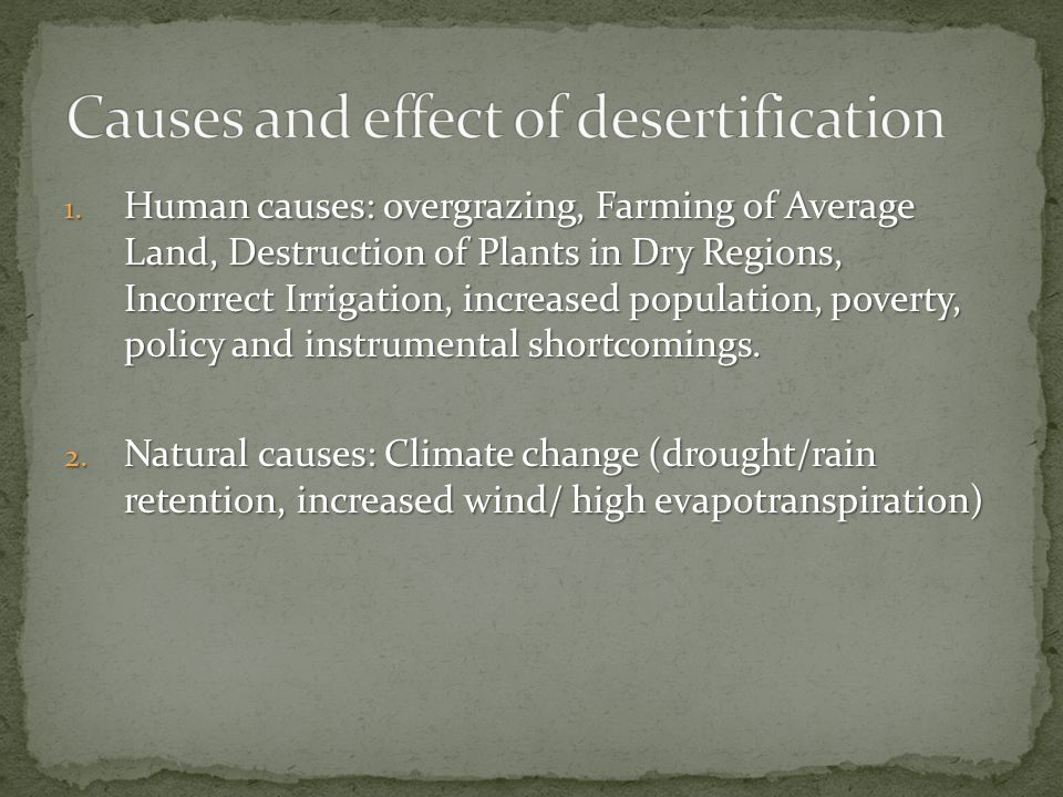relationship between overgrazing and desertification pictures