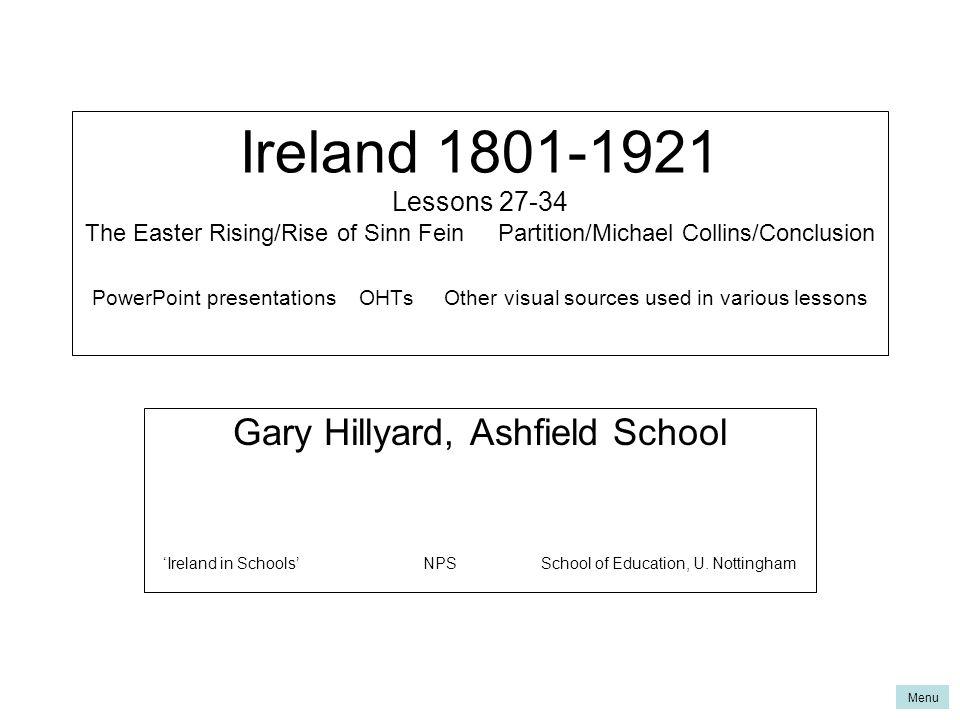 Ireland Lessons The Easter Rising Rise Of Sinn Fein