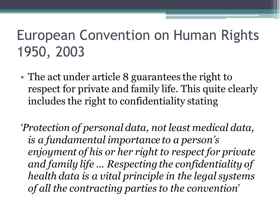 what is article 2 of the european convention on human rights