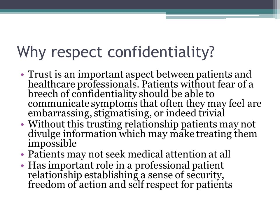 why respect is important in the Why cultural respect is important for patient engagement and healthcare delivery by jaretta harfield on march 2, 2016 who we are is largely dictated by culture.
