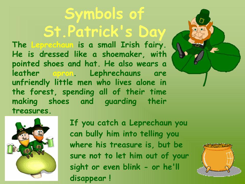 Symbols of St.Patrick s Day