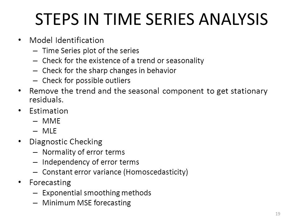 time series analysis Time series analysis solution for business raise forecast accuracy with  powerful time series analysis software time series analysis and.