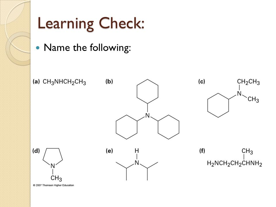 N Methylethanamine Chapter 24. Amines and...