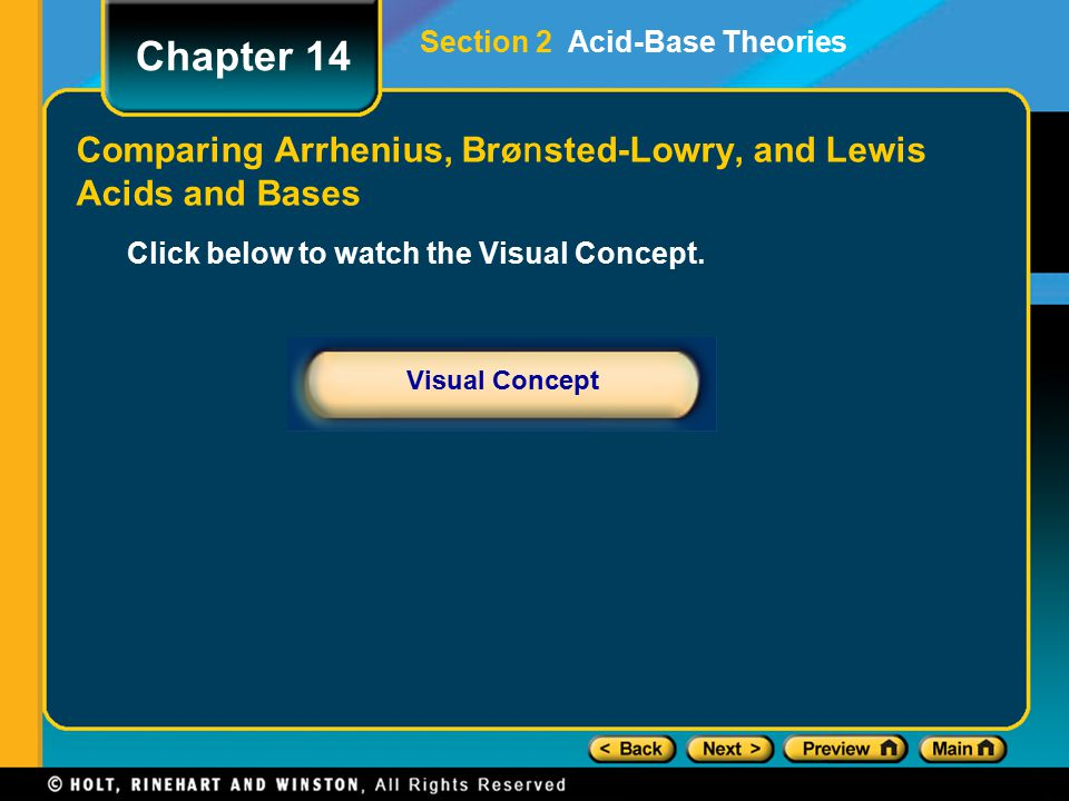 Comparing Arrhenius, Brønsted-Lowry, and Lewis Acids and Bases