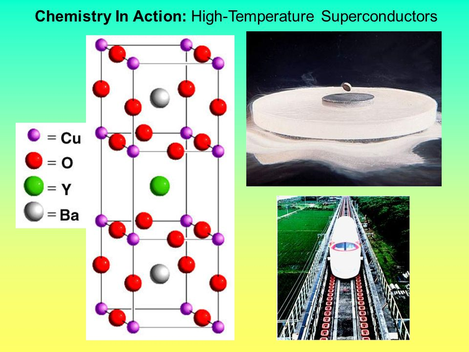 Chemistry In Action: High-Temperature Superconductors