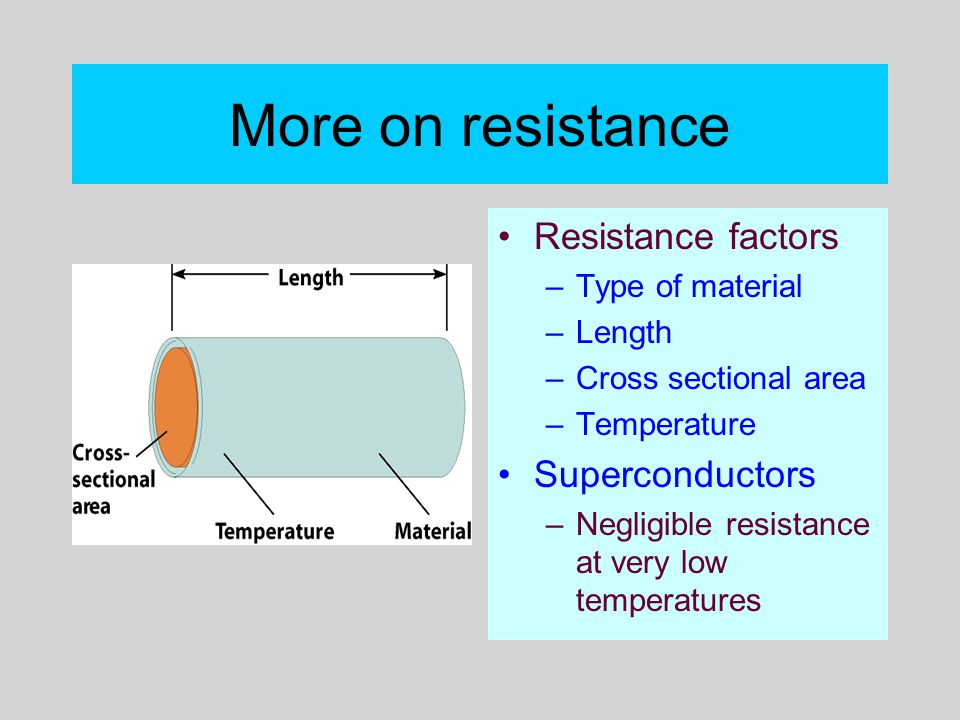 cross sectional area affect the resistance How does area of cross section of a conducting wire affect the current and resistance .