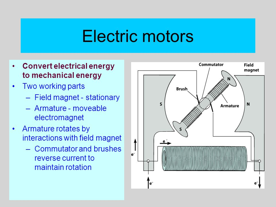 Electrical Mechanical Energy : Powerpoint lectures to accompany physical science e
