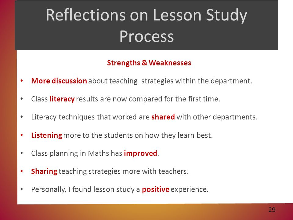 Chapter 1 Learning Through Reflection