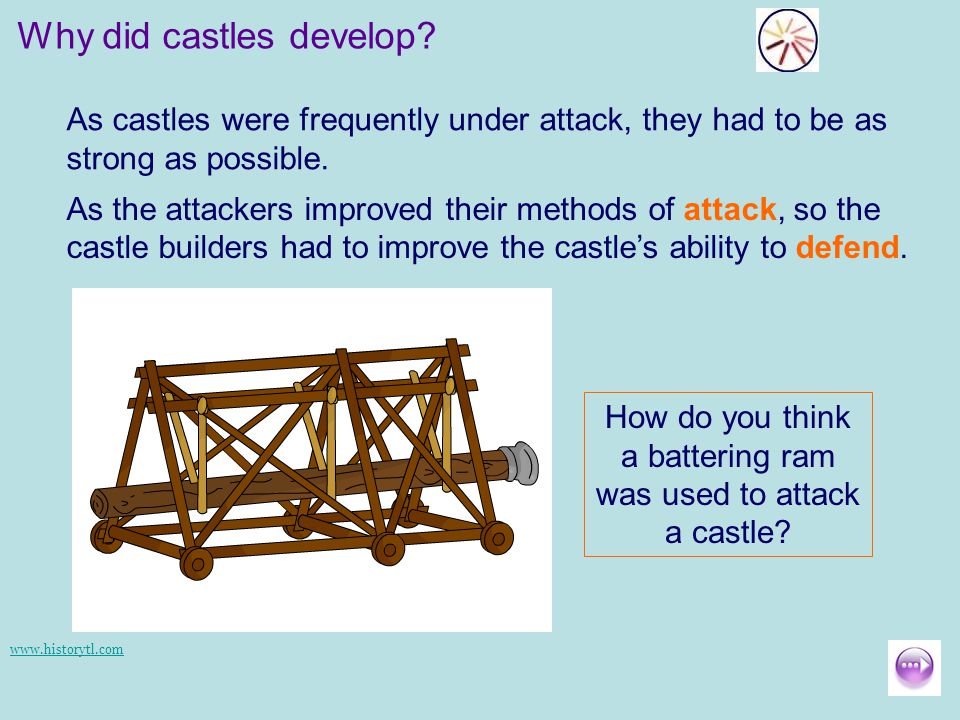 how castles were developed in the Having established a foothold with these mottes (and their accompanying  in  contrast to the norman castles, which were designed to house the lord and his.
