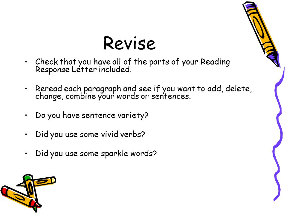 Reader'S Response Letter - Ppt Video Online Download