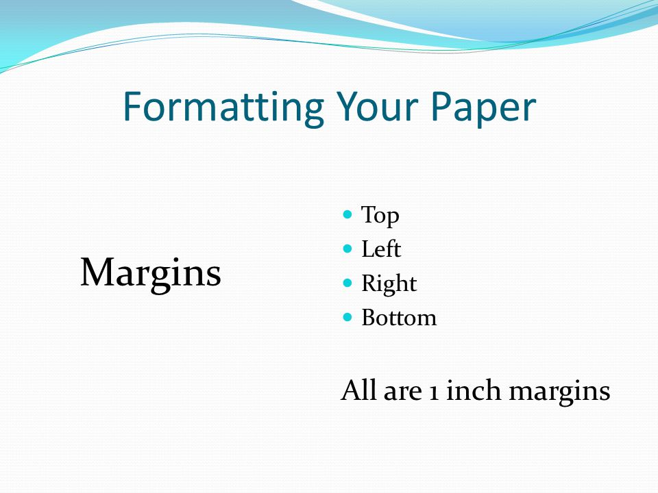 how to get 1 inch margins in word