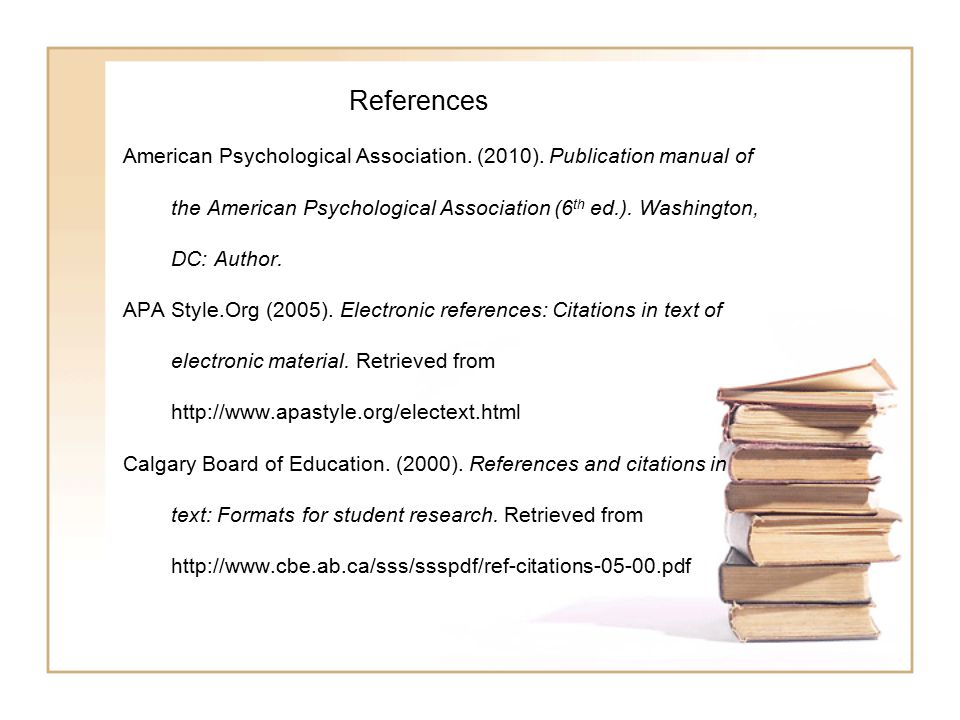 referencing in a psychology essay