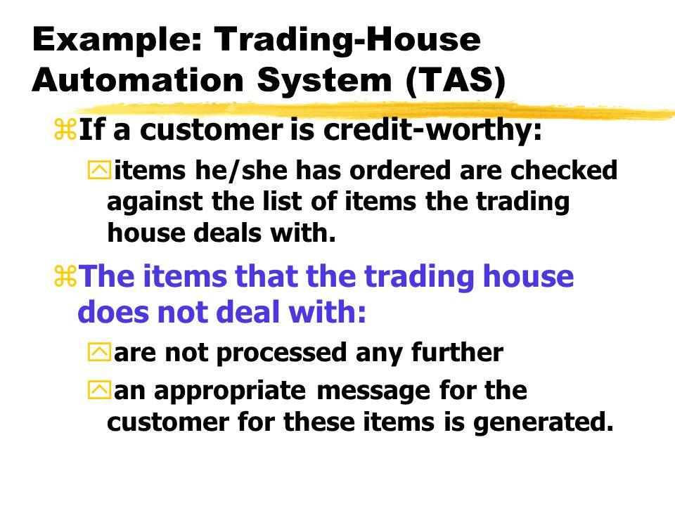 Tas trading system