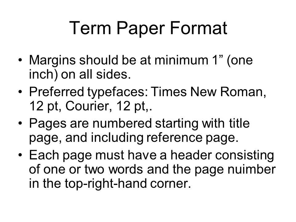 Help term paper