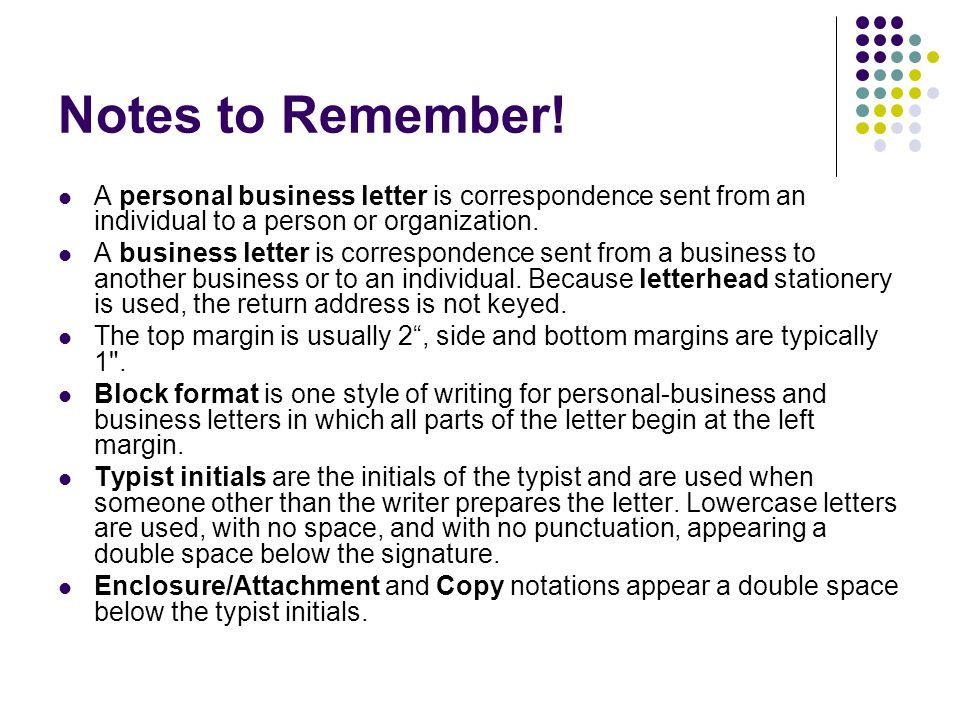 Business Letters A How To!. - Ppt Download
